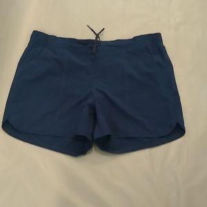 Land's End navy blue swim shorts